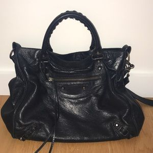 "37368360b363 Balenciaga Bags - Balenciaga ""City Bag"" in Black"